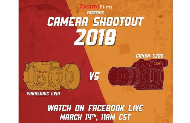 Panasonic EVA1 vs Canon C200 - Camera Shootout 2018 - http://blog.planet5d.com/2018/03/panasonic-eva1-vs-canon-c200-camera-shootout-2018/