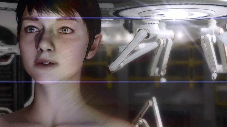 "Quantic Dream's ""Kara"" PS3 Tech Demo TRUE-HD QUALITY. THIS VIDEO IS SO RIDICULOUSLY GOOD"