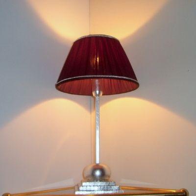 lampe art d co de fabrication artisanale www i lustres. Black Bedroom Furniture Sets. Home Design Ideas