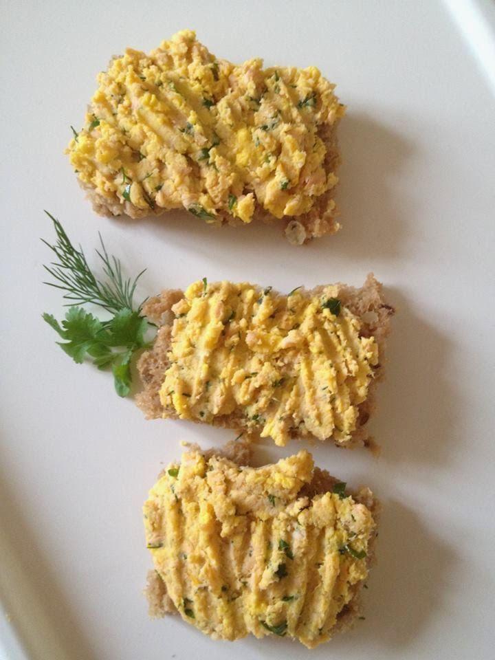 """""""Pasta z jajka i łososia"""" - Przepisy BLW   Ala'Antkowe BLW"""