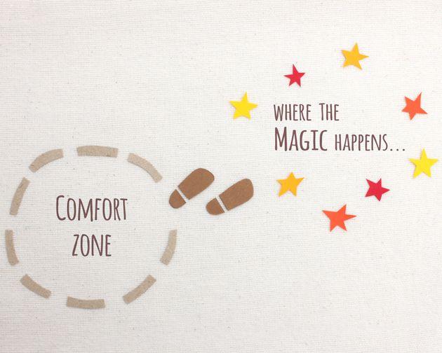 12 Dinge, die passieren, wenn Du Deine #Komfortzone verlässt