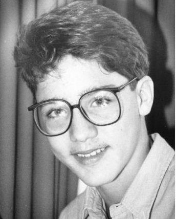 Justin Trudeau Age 14 (1985)