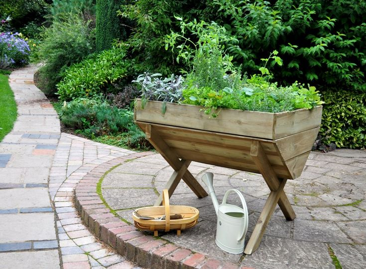 Amazing Kitchen Garden Trough   Raised Height Trough, Perfect For Those Who Have  Trouble Bending Down