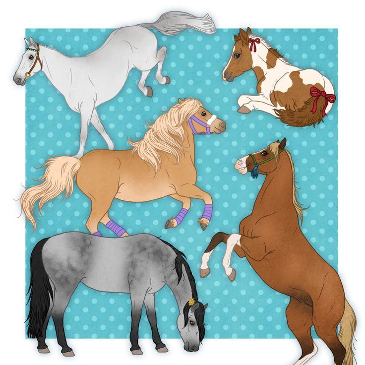 Gefeliciteerd Paardenkaart