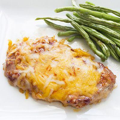 Cheesy Garlic Pork Chops   Skinny Mom   Where Moms Get the Skinny on Healthy Living