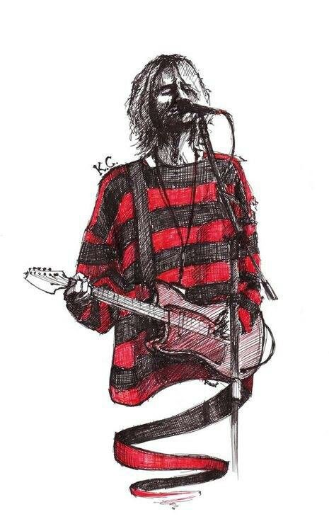 Kurt Cobain fan art