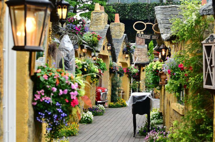 訪れてみたい場所 湯布院にある Yufuin Floral Village