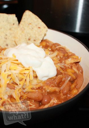 Slow Cooker White Bean Chicken Chili Recipe