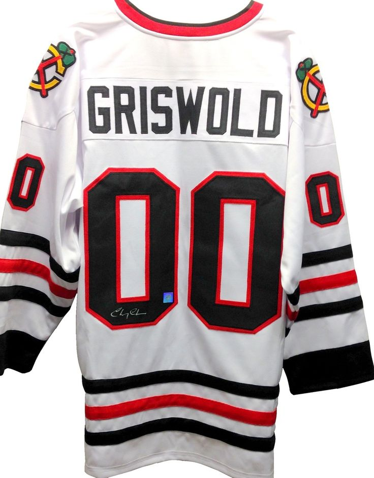 Chevy Chase Signed Griswold Movie Jersey