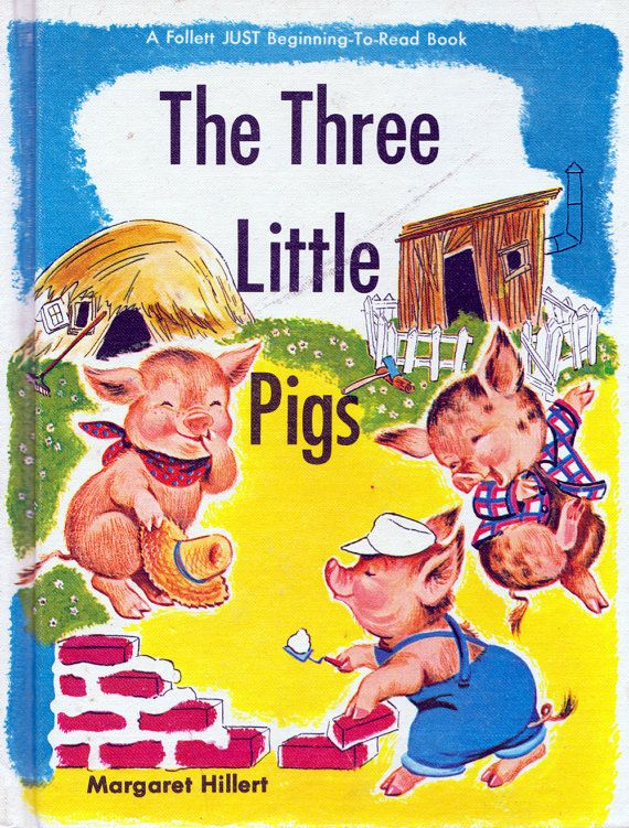 41 best Three Pigs images on Pinterest  Three little pigs Fairy