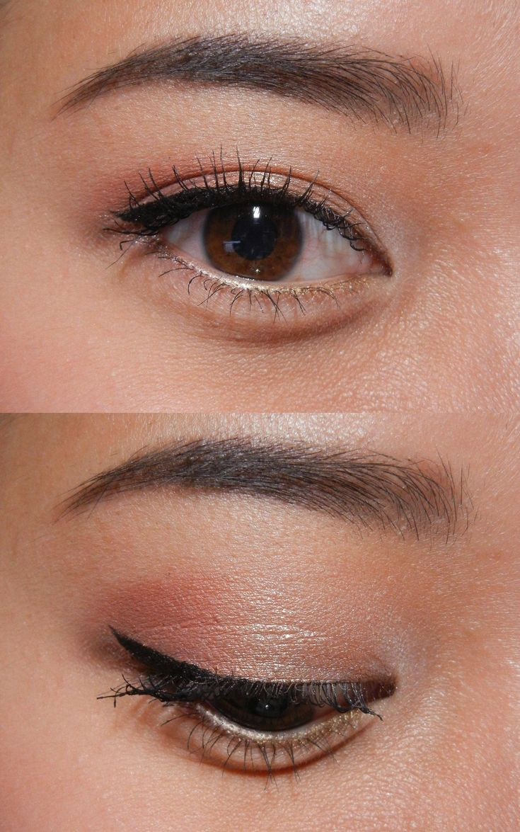 Eyeshadow Ideas On Asian Eyes By Haodoyoudo:  Nyx Eyeshadow Base In White   Bare