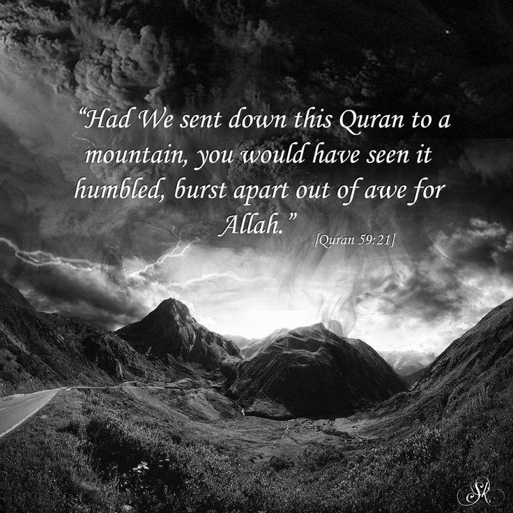 Awe of Allah!