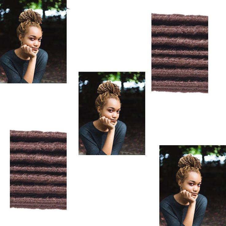 Faux Locs Braid Synthetic Dreadlocks Braids 2x Havana Dreadlocs 24strand Kanekalon Braiding Hair Crochet Hair Extensions Faux