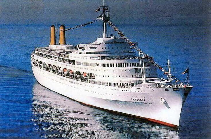 P Amp O Canberra Cruise Ship P Amp Ocanberra Cruiseship Cruise