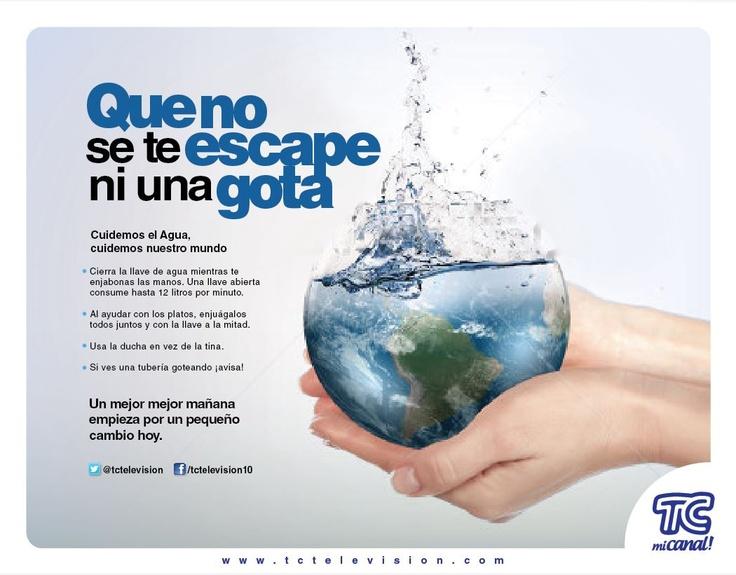 Marzo 22, día mundial del cuidado del agua. #RSE