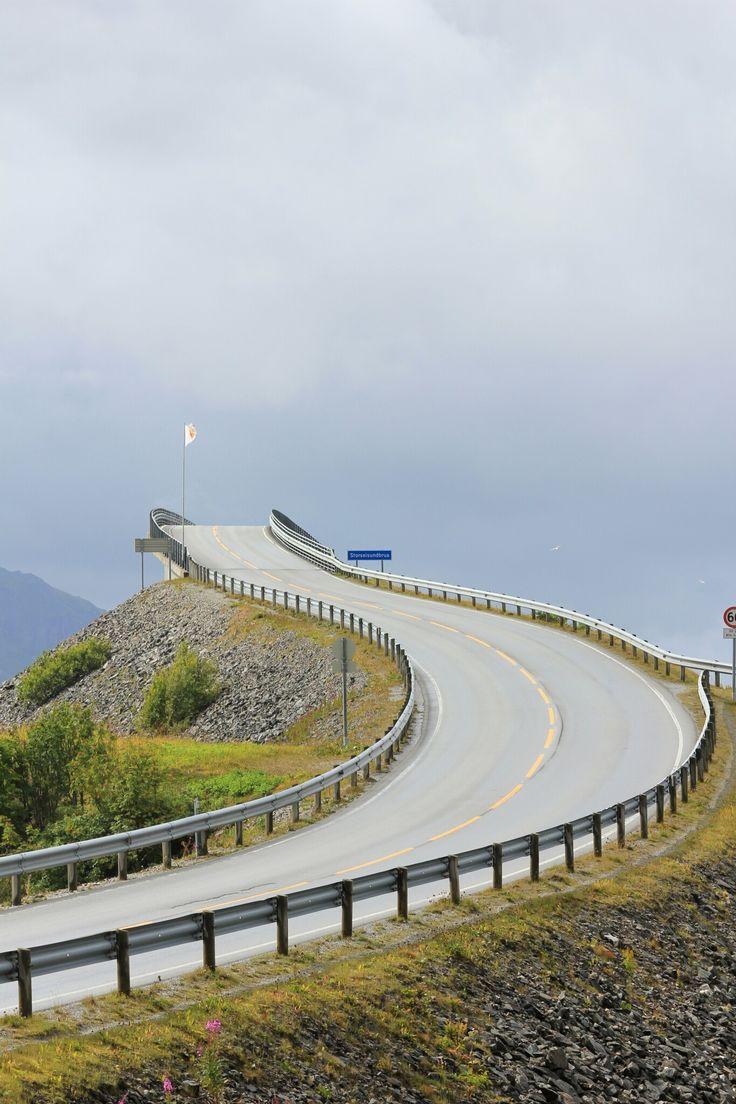 Atlantic vägen, Norge