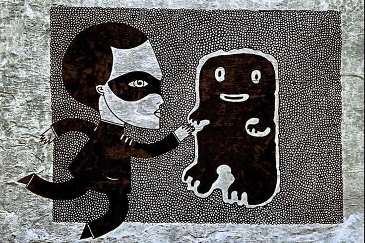 Passear pelas ruas de Paris pode transfromar-se numa caça ao tesouro. Bastille, Montmartre... especialmente através das ruas do Marais, onde estão concentradas muitas das grandes forças criativas da capital francesa. Aos poucos, as pessoas habituaram-se aos pequenos doces, às mensagens secretas e românticas do ilustrador