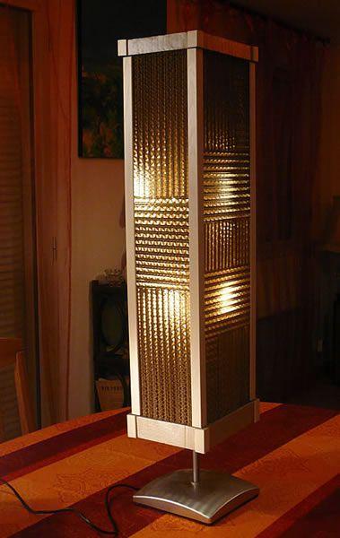 Lampes, cadres, et objets en carton : LES LAMPES D'AMBIANCES EN CARTON ET EN PAPIER