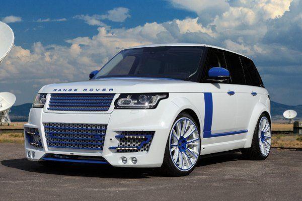 Range Rover CLR R Imperial Stormtrooper от TopCar » Автомобили и тюнинг на «АвтоТюни.ру»
