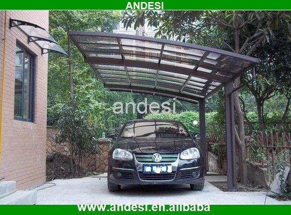 Plastic Carport Canopies : Best outdoor liesure aluminum pergola carport