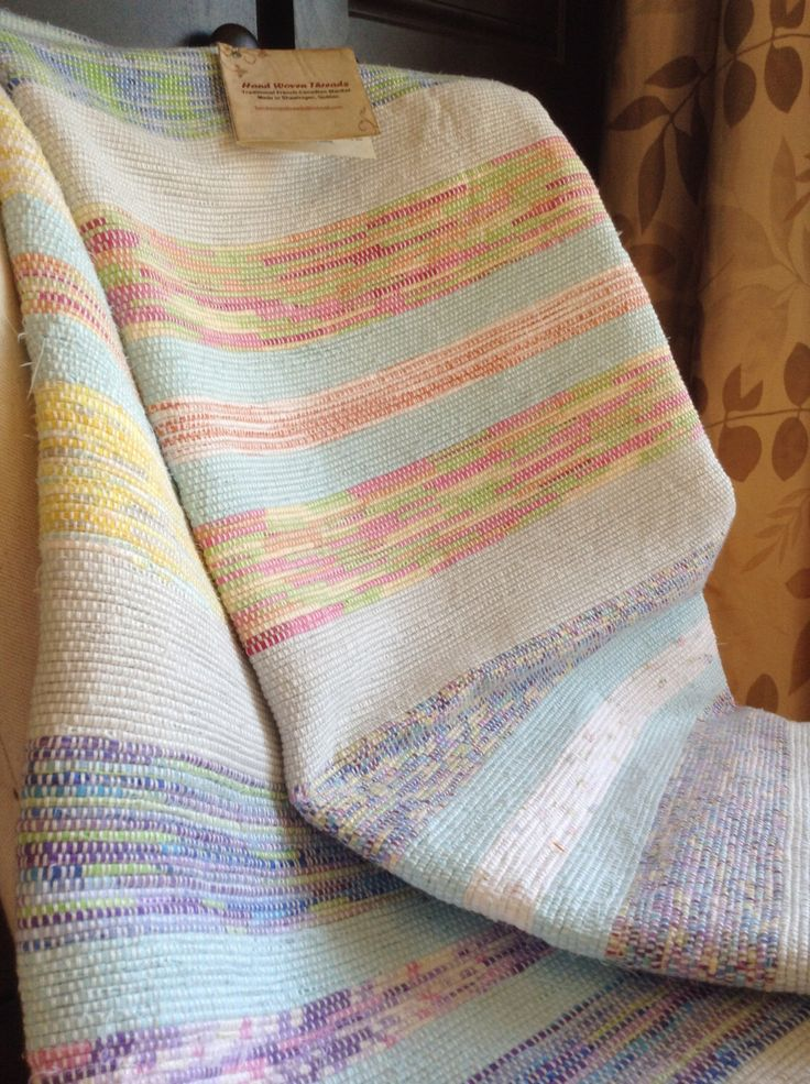 """Traditional Twin Catalogne """"French Canadian Blanket"""" by handwoventhreads on Etsy https://www.etsy.com/listing/250176955/traditional-twin-catalogne-french"""