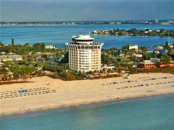 Our hotel! So glad we got married here, barefoot, on the beach!