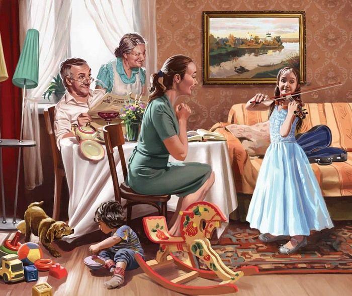 Сообщество иллюстраторов | Иллюстрация Валерий Барыкин - Обидно!. Реклама. Растровая (цифровая) графика