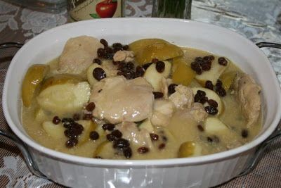 Catholic Cuisine: Apple Chicken - St. Michael feast day - Chicken breasts work well too.