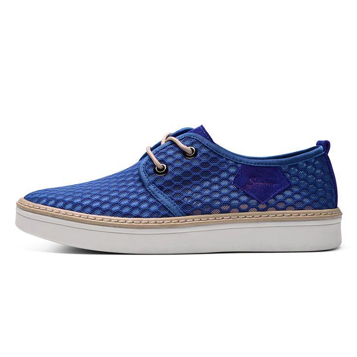Giày nam thời trang Simier 6657 chất liệu vải lưới bện chặt tinh tế, thoáng
