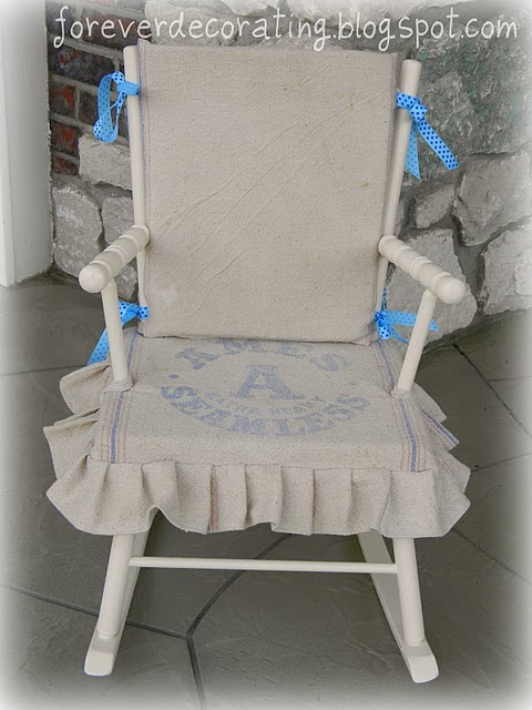 Childs Upholstered Rocking Chair - WoodWorking Projects & Plans