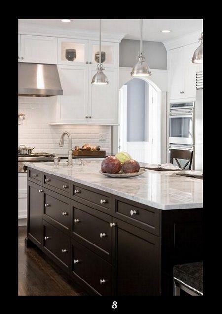 9 best Tuxedo kitchen images on Pinterest  Kitchen ideas