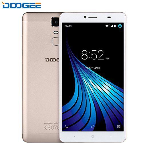 Black Friday SIM Free Mobile Phones DOOGEE Y6 Max Android 6.0 Smartphone Dual Sim Cell Phone unlocked 4G SIM-Free - FHD 6.5 Inch Display - 3GB RAM   32GB ROM - 5MP   13MP Camera Lens