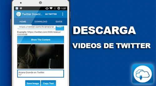 Cómo descargar videos de Twitter fácilmente desde Android