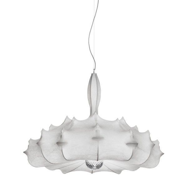 Zeppelin By Marcel Wanders ZEPPELIN Suspension Lamp Providing Diffused Light Features Finish White Powder Coated Internal Steel Structure Sprayed