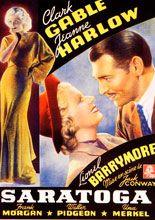 Saratoga 1937 Descargacineclasico Net Carteles De Cine Cine Musica Libros Carteles De Peliculas Famosas