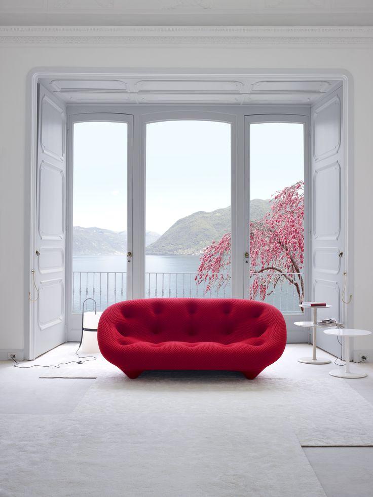 Ploum sofa designed by Ronan and Erwan Bouroullec for Ligne Roset http://decdesignecasa.blogspot.it