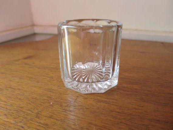 Art Deco Cigarette Holder Clear Crystal by BonniesVintageAttic