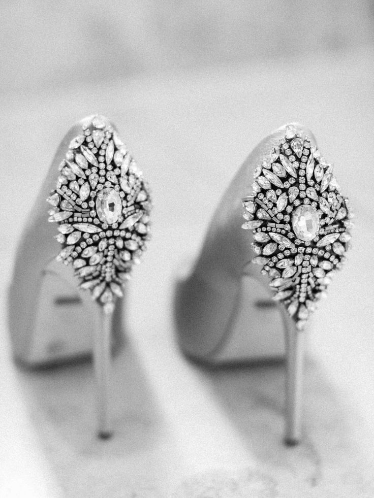 Badgley Mischka Shoes | Belle and Beau Fine Art Photography