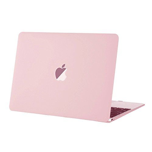 Mosiso Hard Case for New Macbook 12 Inch with Retina Display (Rose Quartz)