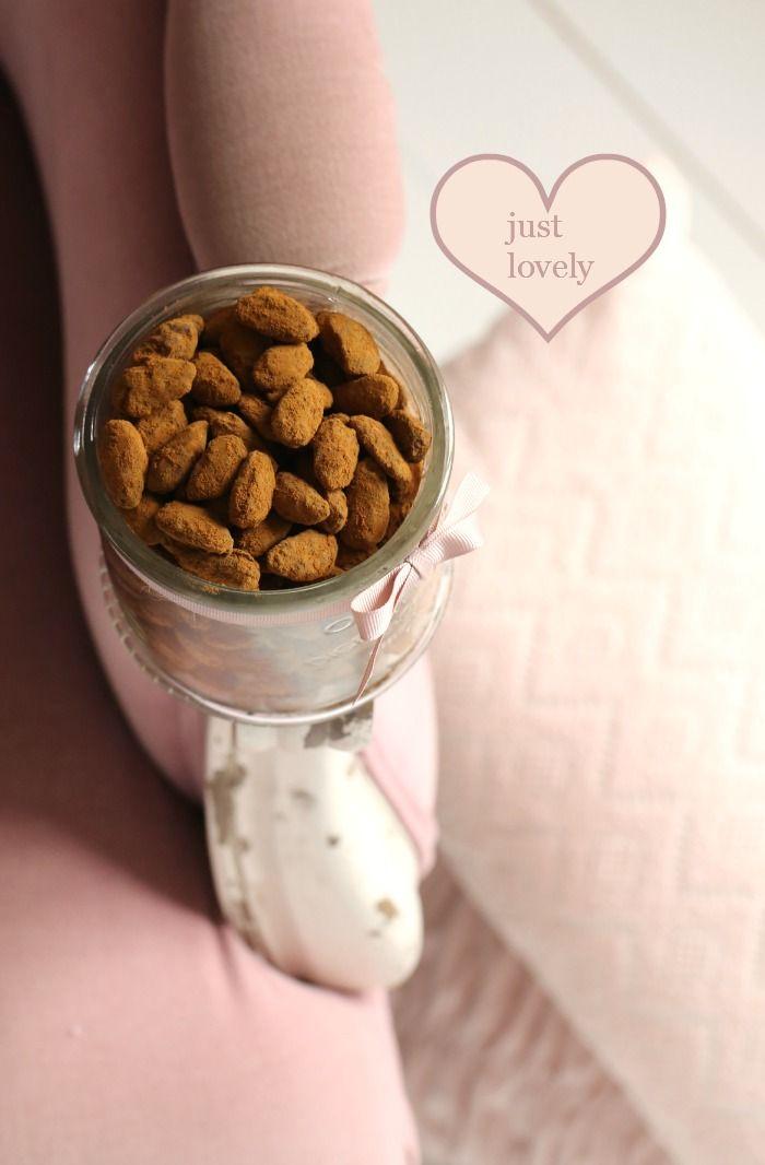 Licorice & chocolate covered almonds