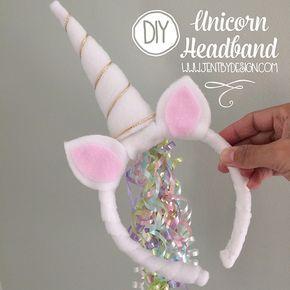 DIY Unicorn Headband Tutorial