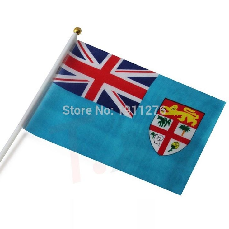 Cheap flag chain, Buy Quality flag plate directly from China flag stick Suppliers: New fashion Fiji Flag 14x21cm Polyester Hand Waving National Flag Fiji with Plastic Flagpoles Home Decor.10 pcs /lot
