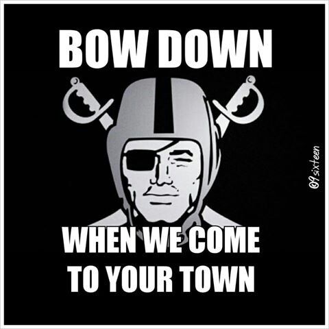 Raiders all day