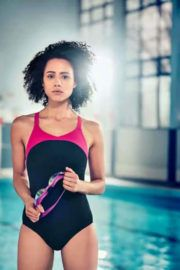 Nathalie Emmanuel Photoshoot for Speedos 'Make It Wet' Campaign