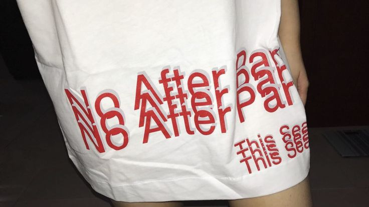 No After Party x Alexander Wang