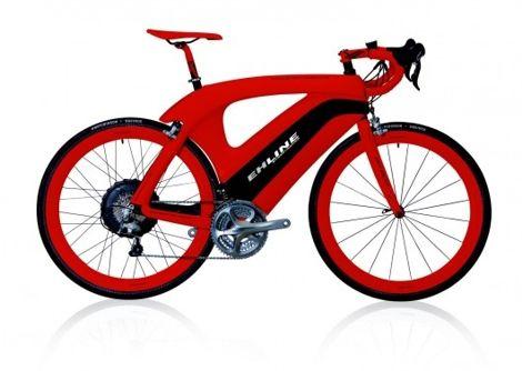 Das Unternehmen EH Line selbst nennt sein neues Modell eines Elektro-Fahrrades, das eine Spitzengeschwindigkeit von bis 45 km/h erreichen kann, den Ferrari unter den E-Bikes. Der Street Racer ist ein robustes Fahrrad das zur Unterstützung des Antriebs auf einen Elektro Motor mit 250 Watt setzt.