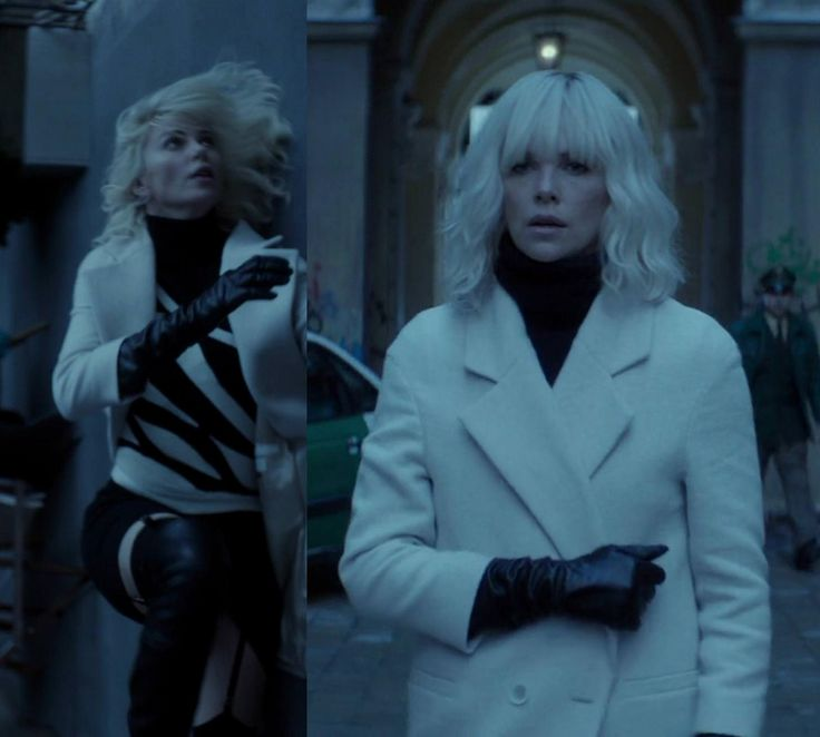 Atomic Blonde Outfits