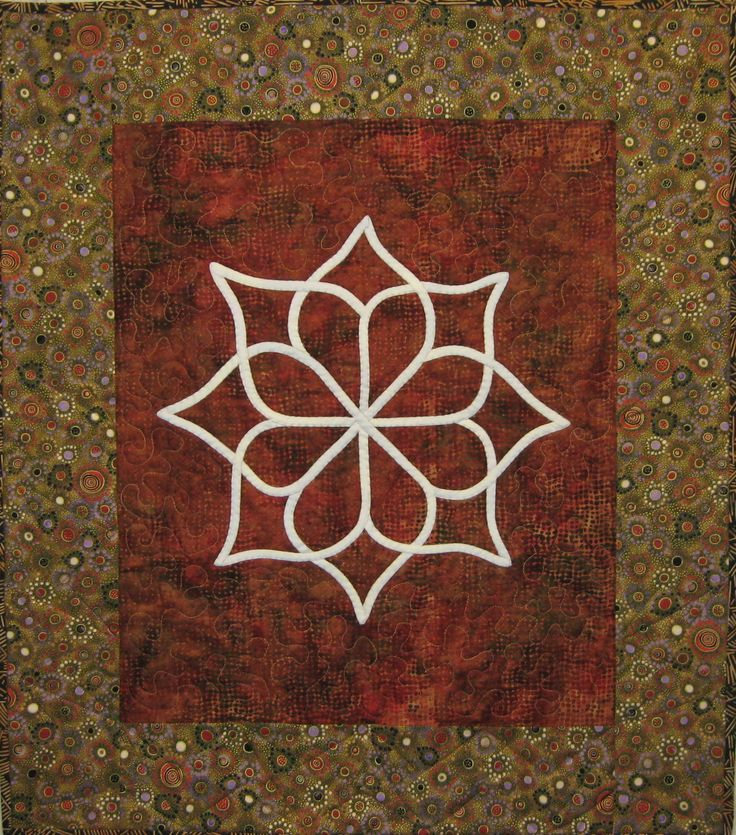 Another Dawn, kolam quilt by Lauren Kingsland