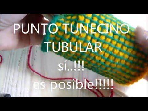 PUNTO TUNECINO TUBULAR con agujas d.i.b