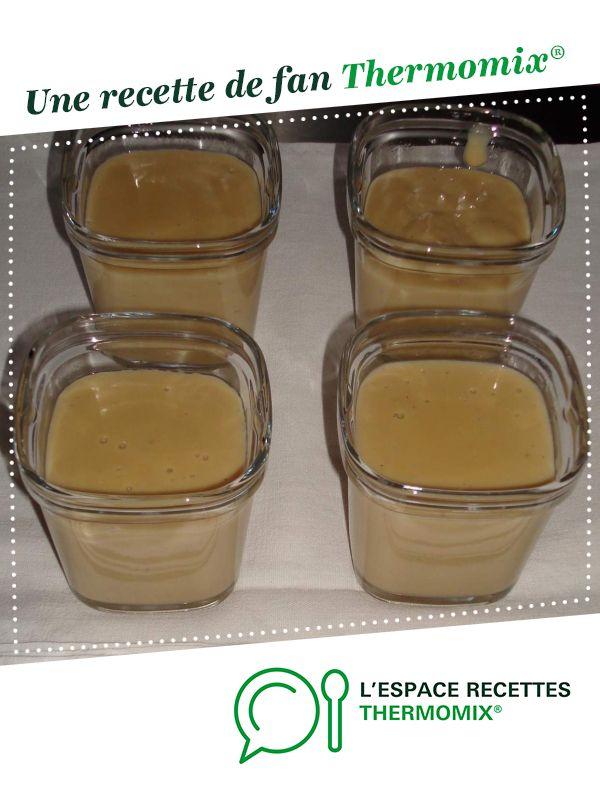 Crème dessert façon danette café par Floflo40. Une recette de fan à retrouver dans la catégorie Desserts & Confiseries sur www.espace-recettes.fr, de Thermomix<sup>®</sup>.